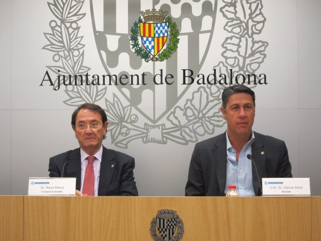 Xavier Garcia Albiol Y Ramon Riera