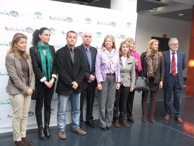 Miembros De La Comisión De Turismo Del Parlamento De Andalucía