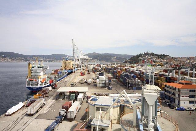 Terminal de contenedores del Puerto de Vigo