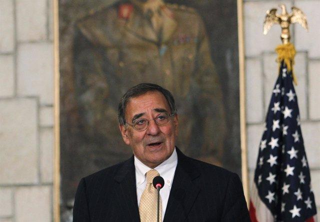 El Secretario De Defensa Estadounidense, Leon Panetta