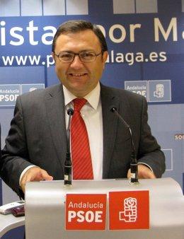 El Secretario General Del PSOE De Málaga, Miguel Ángel Heredia
