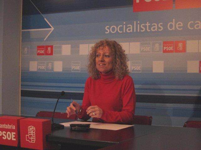 La Portavoz Del Grupo Socialista En El Parlamento, Rosa Eva Díaz Tezanos