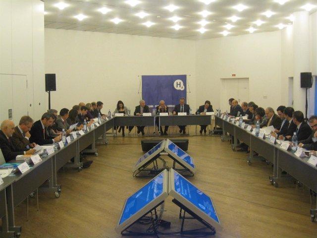 Reunión Del Patronato De La Fundación Hidrógeno De Aragón.