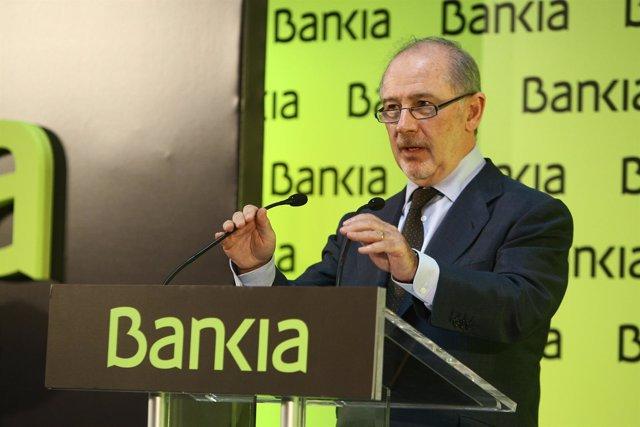 El Presidente De Bankia, Rodrigo Rato