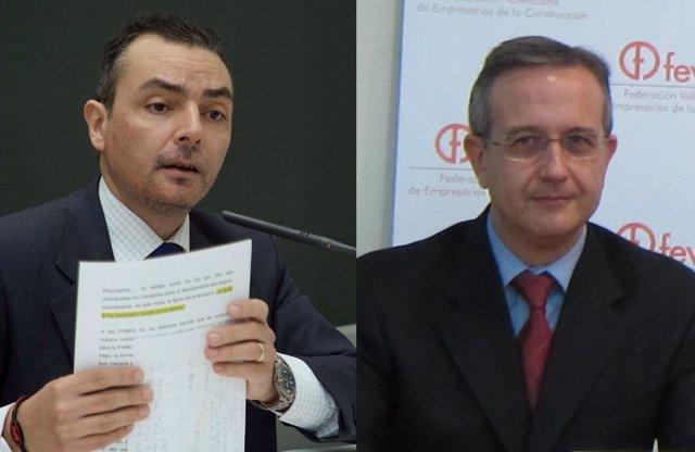 Los Candidatos A Presidir La CEV Salvador Navarro Y Juan Manuel Real.