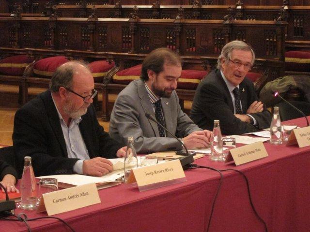 Josep Rovira, Gerard Ardanuy Y Xavier Trias