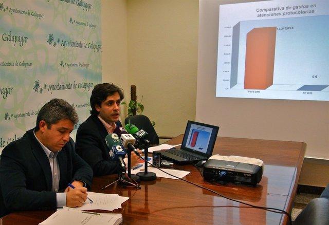 Daniel Pérez Presenta Los Presupuestos