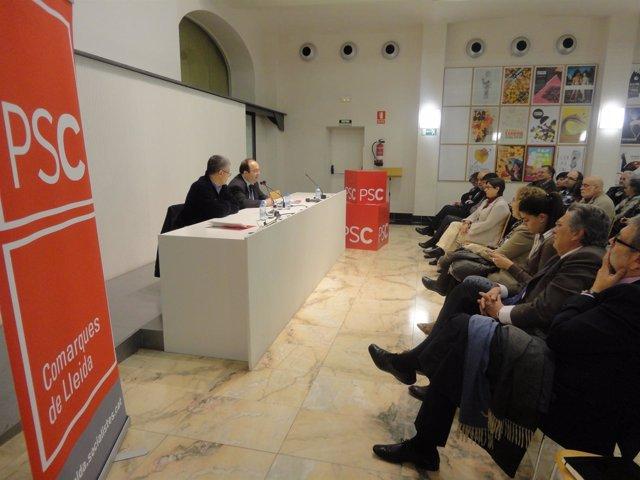 El Viceprimer Secretario Y Portavoz Del PSC, Miquel Iceta