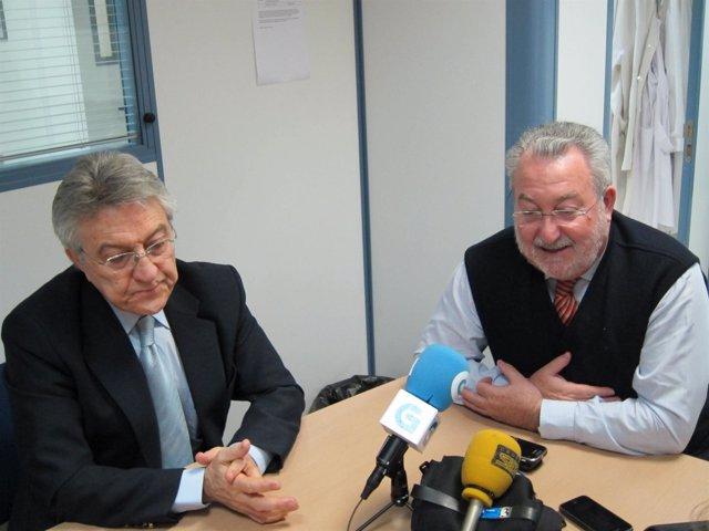 Díez Tejedor Y Bernat Soria En La Comparecencia Ante Los Medios