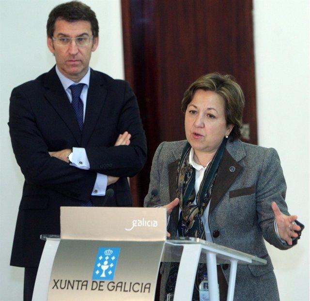 O PRESIDENTE DA XUNTA COMPARECE NA ROLDA DE PRENSA POSTERIOR A REUNION DO CONSEL