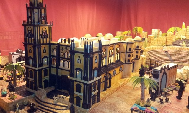 Catedral De Málaga En Chocolate En El Belén De Rute (Córdoba)