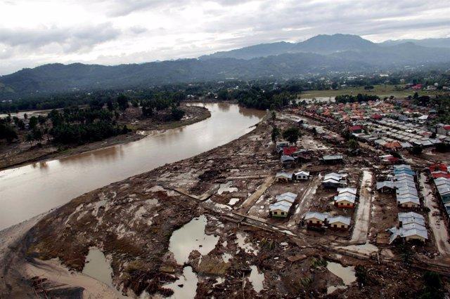 Imagen De Filipinas Tras El Tifón Washi