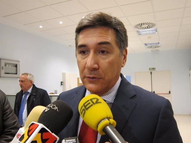 El Consejero De Sanidad, Ricardo Oliván.