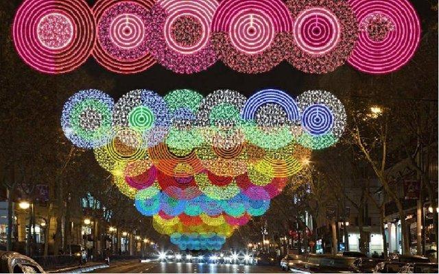 Iluminación Navideña En Madrid