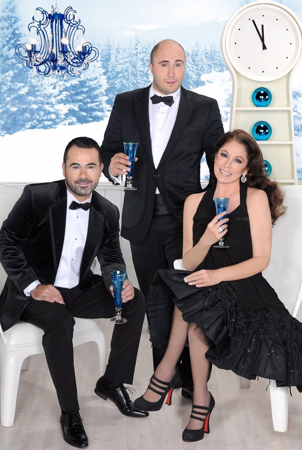 Jorge Javier Vázquez, Kiko Rivera E Isabel Pantoja Darán Las Campanadas