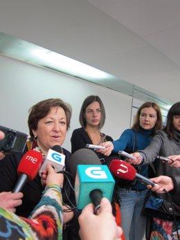 La Conselleira De Sanidade, Pilar Farjas.
