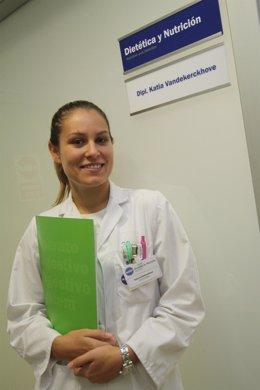 La Nutricionista De USP Marbella Katia Vandekerckhove