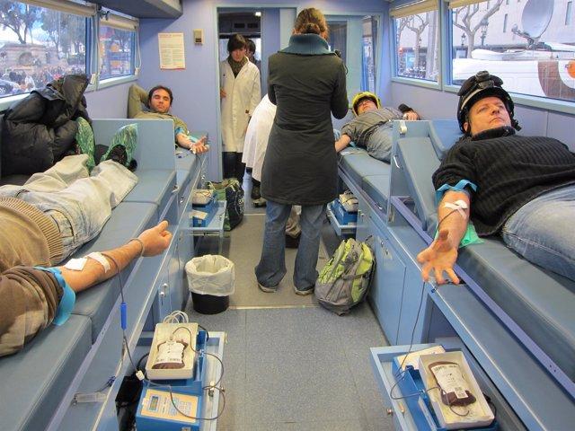 Bomberos De La Generalitat Donan Sangre