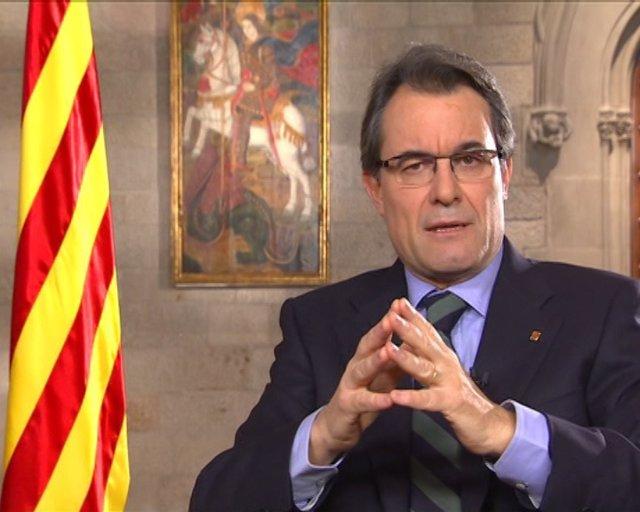 "Artur Mas pide a Rajoy ""respeto"" para Cataluña"