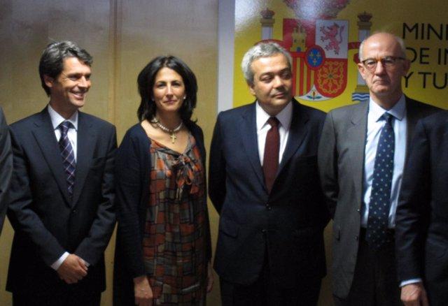 Isabel Borrego, Nueva Secretaria De Estado De Turismo, En Su Toma De Posesión