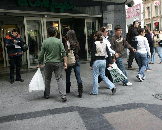 Gente, Compras, Consumidores