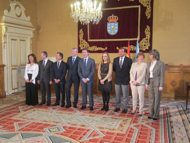 El Nuevo Gobierno De La Xunta, Tras La Remodelación
