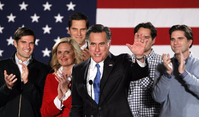 El Ex Gobernador De Massachusetts Mitt Romney