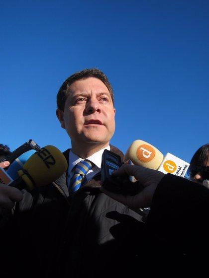 """García-Page dice que """"hoy por hoy"""" no tiene ninguna """"aspiración personal"""" pero apuesta por candidaturas """"serias"""""""