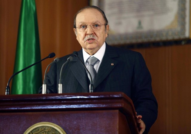El presidente argelino, Abdelaziz Buteflika