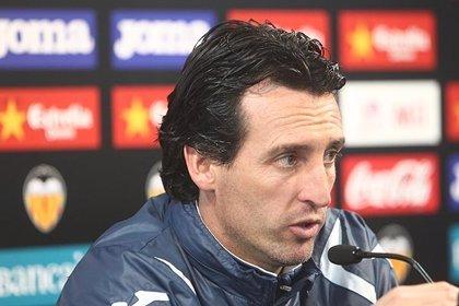 """Fútbol/Copa.- Emery: """"Nos exigimos en esta eliminatoria dar el cien por cien porque queremos pasar"""""""
