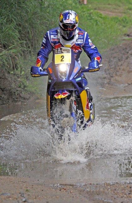 """Rally/Dakar.- Despres (KTM): """"Sólo he perdido dos minutos, no es mucho tiempo"""""""