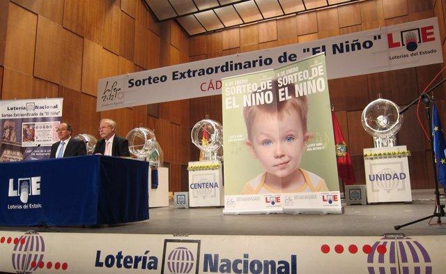 Presentación Del Sorteo De El Niño En Cádiz
