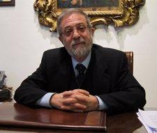 El Rector De La Universidad De Valladolid, Marcos Sacristán