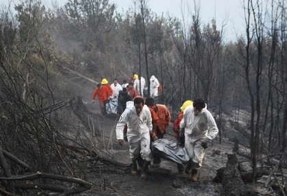 Chile culpa a indígenas mapuche de incendios en el sur y luego rectifica