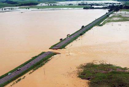 Al menos 2 millones de damnificados por las fuertes lluvias en Brasil
