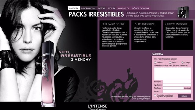 Camapaña Irresistible De Givenchy