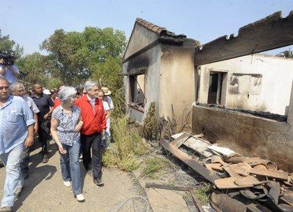 Piñera: los incendios en Bío Bío y Araucanía fueron intencionados