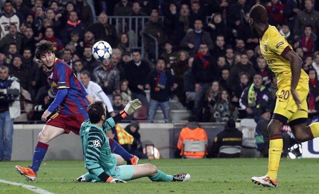 Messi Supera A Almunia