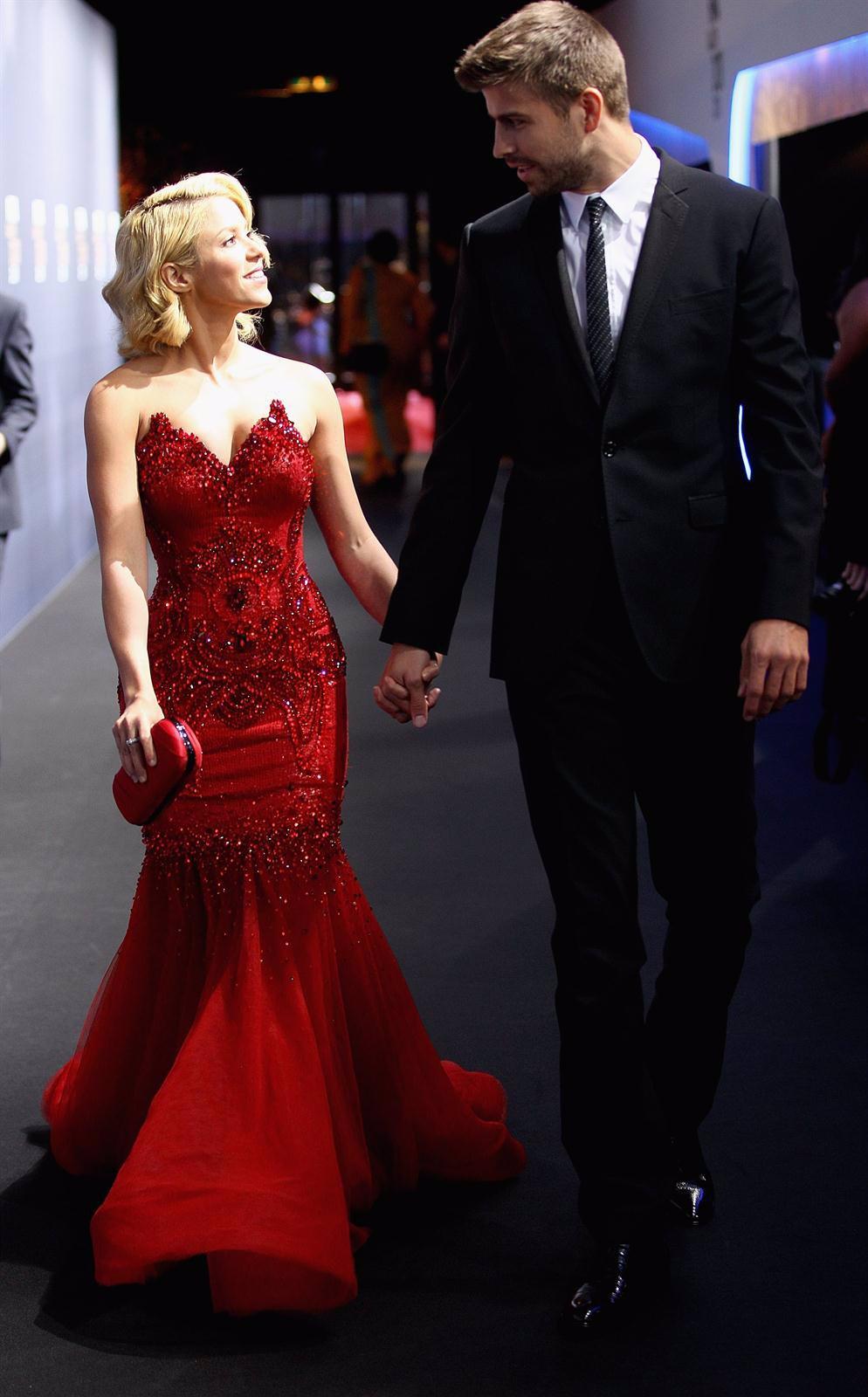 Shakira Y Piqué En La Gala Del Balón De Oro