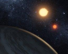 Sistema Binario, Exoplaneta