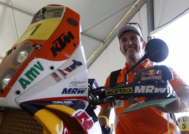 El Piloto Español De Motos Marc Coma