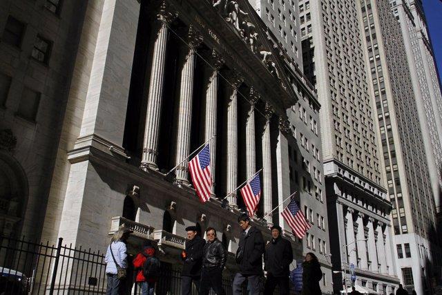 Una Imagen De Wall Street