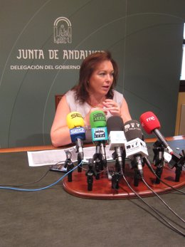 La Delegada Provincial De Educación De La Junta, Antonia Reyes