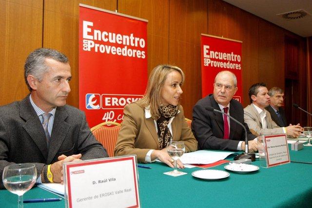 Inauguración De La Jornada De Proveedores De Eroski
