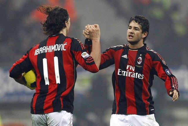 Ibrahimovic y Pato