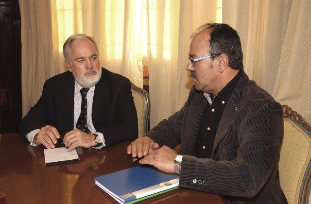 El Ministro De Agricultura, Miguel Arias Cañete