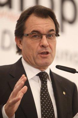 Artur Mas En Los Desayunos De Europa Press