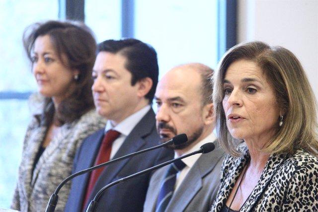 Ana Botella Y Miguel Angel Villanueva