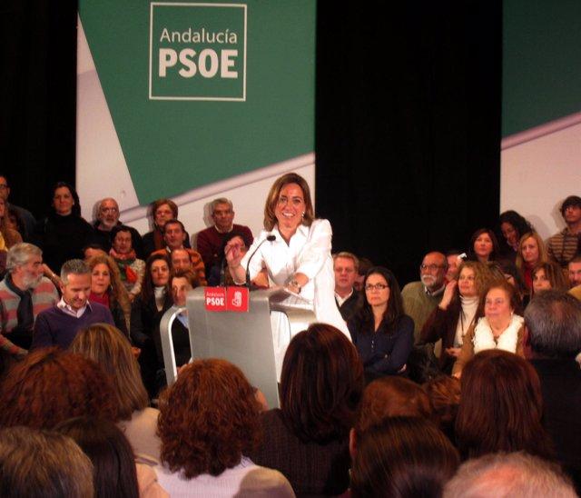 Carme Chacón, Hoy En Un Acto En Sevilla