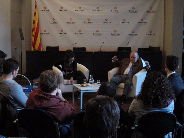 Jordi Pujol En Òmnium Cultural